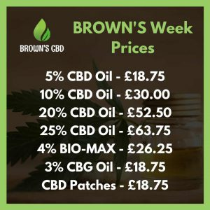 Black Friday CBD Deals